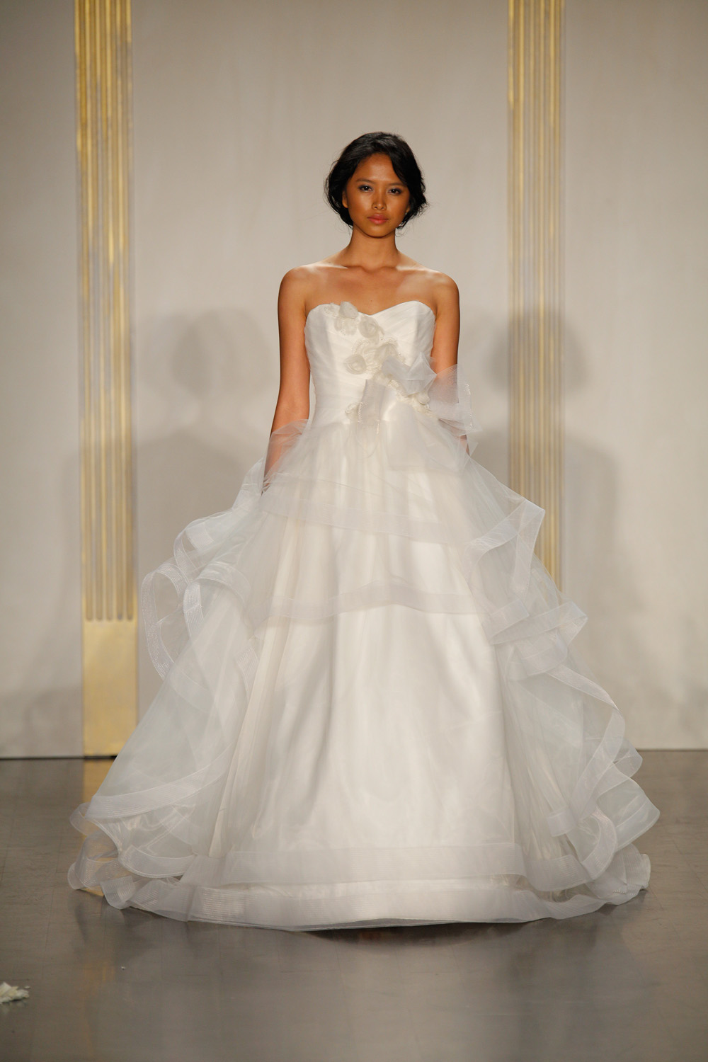 JLM Couture Bridal Show Spring 2012, 123 West 18th Street, NYC,